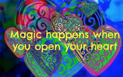 Open your heart with magic art